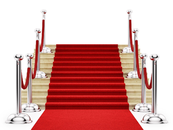 Oscars red carpet treatment
