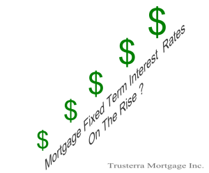 are mortgage rates on the rise